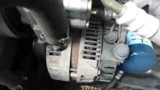 Bruit compartiment moteur 406
