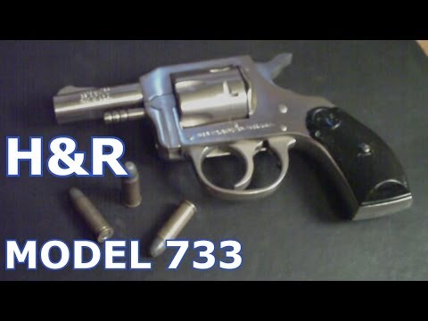 H&R Model 733 .32 S&W Long Harrington & Richardson Brushed Nickel