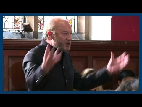 Gay Rights and Hugo Chavez | George Galloway | Oxford Union