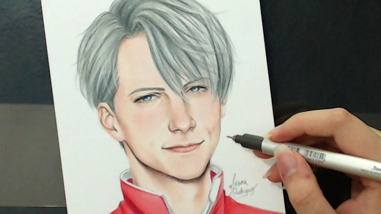 Live Wallpaper Iphone X Not Working Real Victor Nikiforov Speed Drawing Youtube