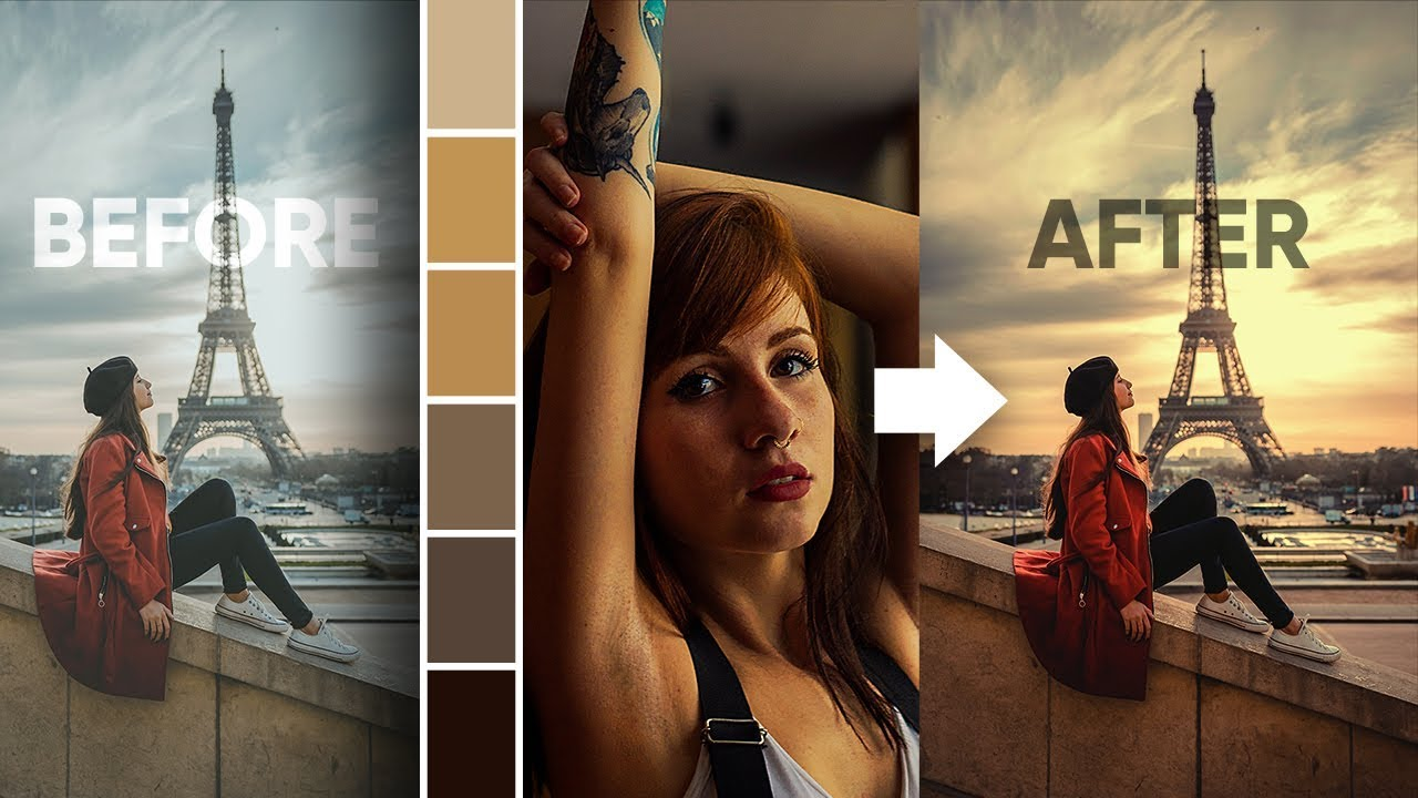 Steal the Color Grading from Any Image with Photoshop!
