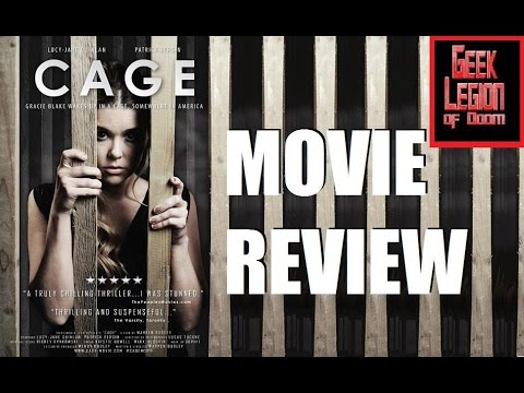 CAGE ( 2016 Lucy-Jane Quinlan ) Horror Drama Thriller Movie Review
