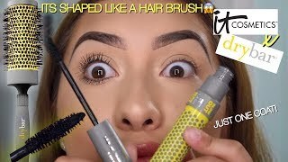 NEW! It Cosmetics x Drybar Lash Blow Out Mascara!!