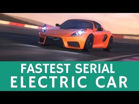 World's Fastest Serial Production e-Car: Detroit Electric SP:01