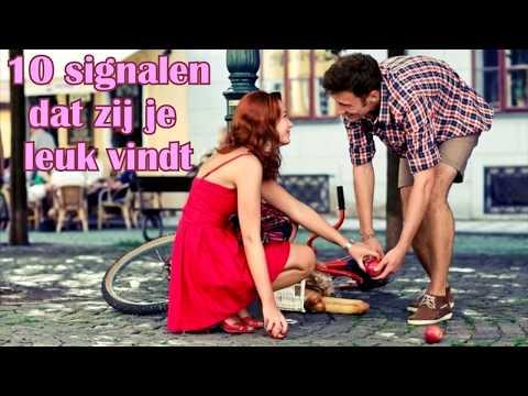 10 signalen dat zij je leuk vindt