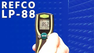 Using Infrared Thermometer with Refco LP-88
