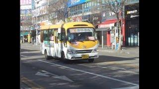206-1번 버스 홈플러스~신명아파트.백병원 안내방송 …