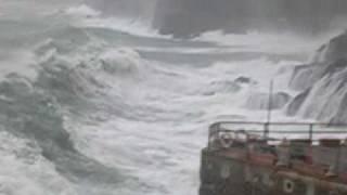 mareggiata praiano costa d'amalfi-storm big waves