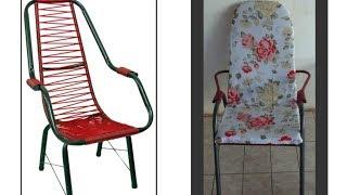 Aprenda Fazer Almofada para Cadeira de Varanda