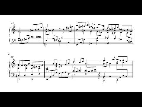 Keith Jarrett - I Fall in Love Too Easily (Transcription) - Ending
