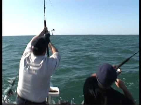 Jason Kennedy and Matt Cini Fun Kids Day Reel Time Fishing Charters