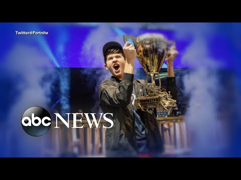 Teen Fortnite champion victim of 'swatting' l ABC News