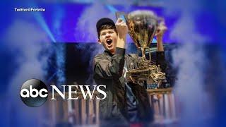 Teen Fortnite champion victim of 'swatting' l ABC News