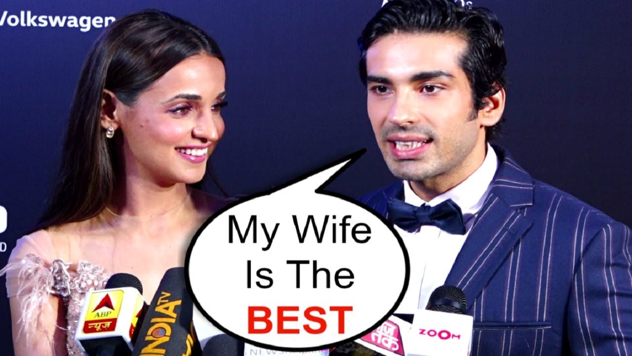 Sanaya Irani And Mohit Sehgal CUTE Interview Together At GQ Best Dressed Awards 2019