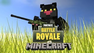 ◢ victory in MINECRAFT [with Gruh] FORTNITE ◣