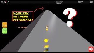 ¿Qué hay en la parte superior de la torre OCTAGONAL? -ROCKET SIMULATOR-ROBLOX