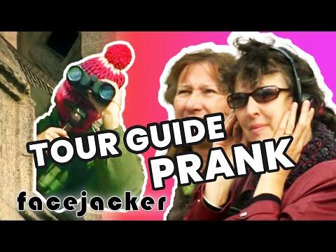 Hilarious Tour Guide Prank On Clueless Tourists | Facejacker
