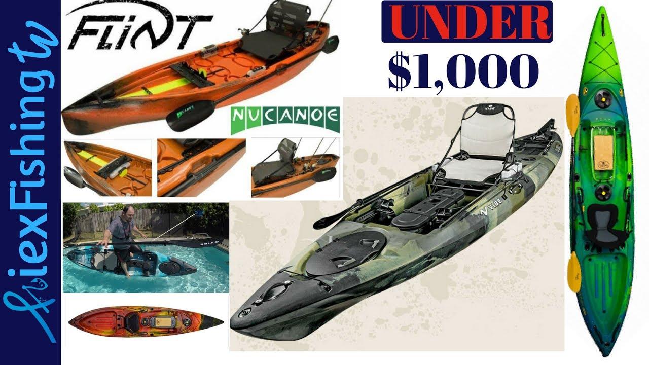 Best fishing kayaks under 1000 youtube for Good fishing kayaks
