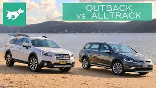 2018 Subaru Outback vs 2018 Volkswagen Golf Alltrack Comparison Review
