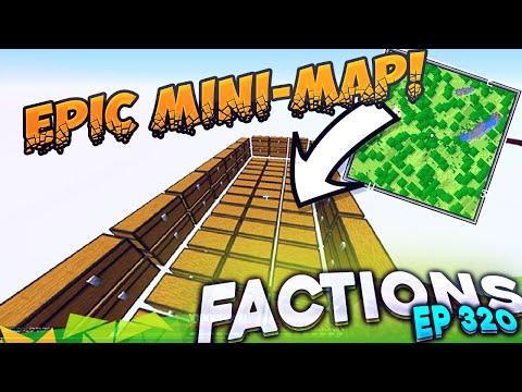 Minecraft Factions #320 - NEW OP MINI-MAP! (Minecraft Raiding)