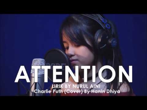 ATTENTION - Lirik Lagu (Cover) by Hanin Dhiya