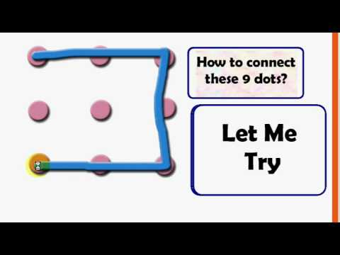 Connect 9 Dots Without Lifting The Pen