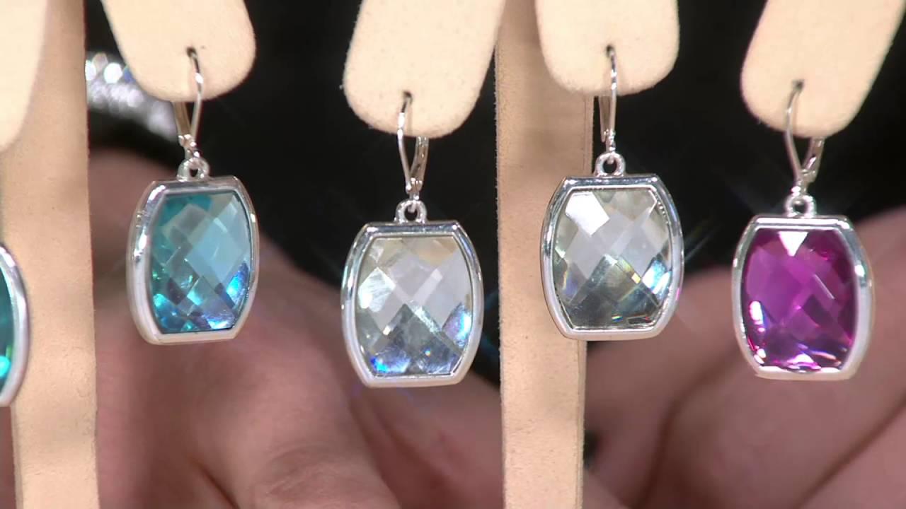 072da615b Joan Rivers Set of 4 Jewelbox Lever Back Earrings on QVC - YouTube
