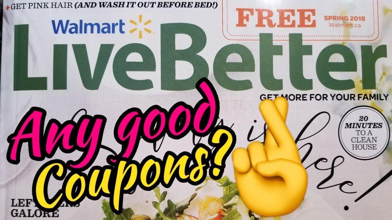 FREE WALMART Magazine Flip Through | HIGH VALUE Coupons | FREE SAMPLES +  more | Extreme Couponing