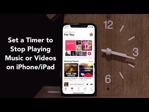 Set a Timer to Stop Playing Music or Videos on iPhone and iPad