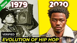 THE EVOLUTION OF HIP HOP [1979 - 2020]