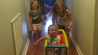 BABY ROLLER COASTER INVENTION! │DAILY VLOG 8•13•18