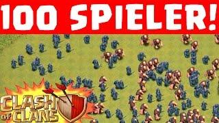 100 SPIELER KRIEG! || CLASH OF CLANS || Let's Play CoC [Deutsch/German HD+]