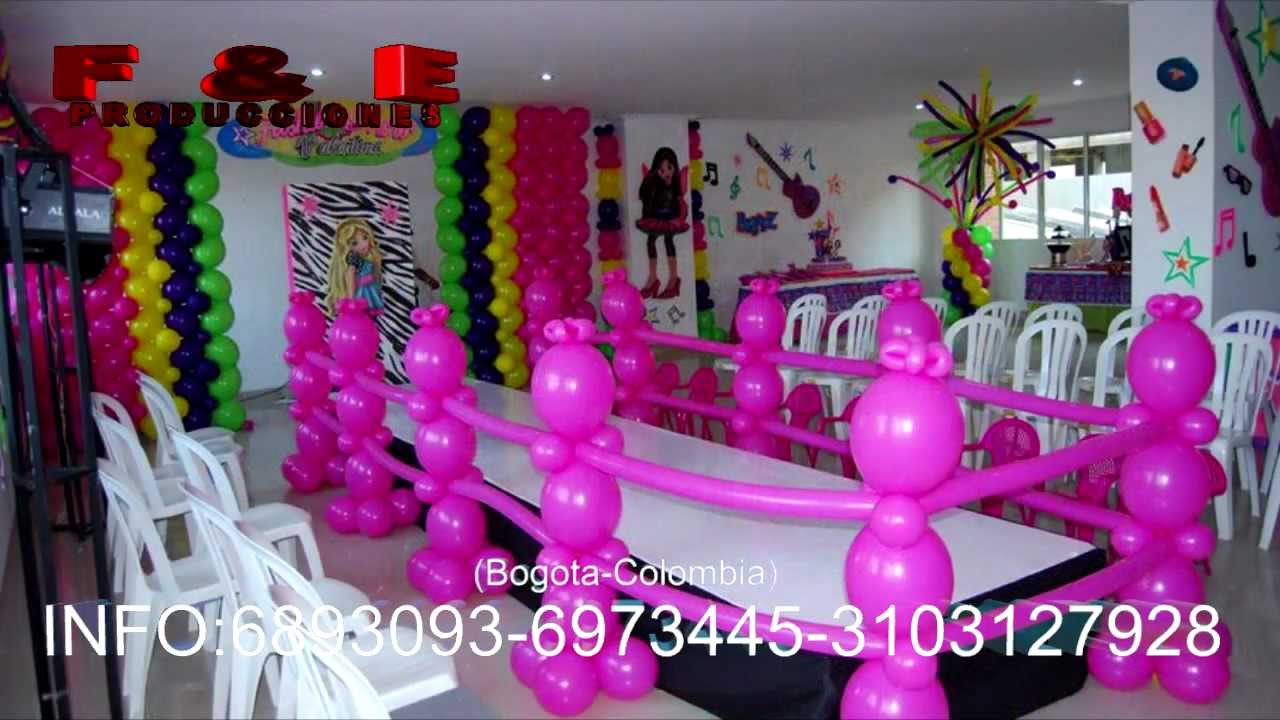 Decoraci n de fiestas infantiles tem ticas en bogot for Decoracion pared infantil