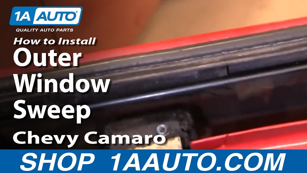 Chevy Silverado GMC Sierra Driver Side Door Window Outer Weather Sealing Strip