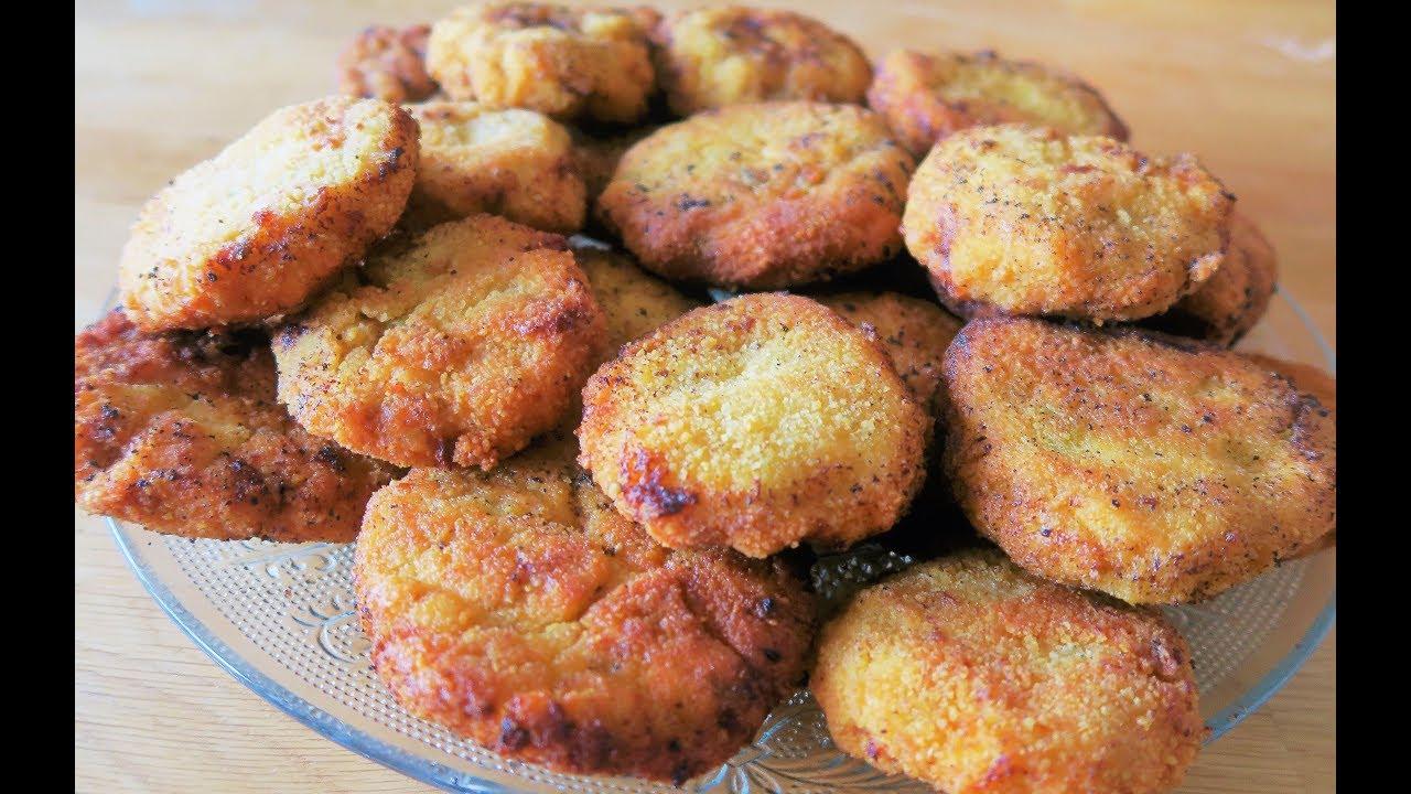 Croquette De Jambon Au Four recette 113 : croquettes de poulet & mozzarella / chicken & mozzarella  croquette recipe