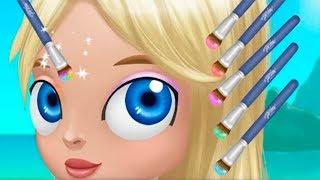 ПРИЧЕСКА ЧЕЛЛЕНДЖ Салон красоты для девочек Смешной Мультик игра  Развлекательное видео для детей