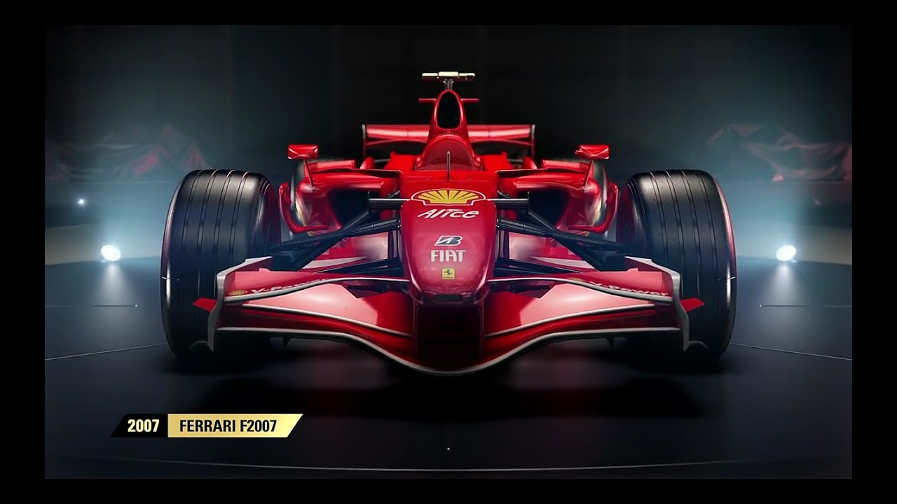 f1 2017 3 new classic ferrari cars revealed youtube. Black Bedroom Furniture Sets. Home Design Ideas
