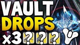 Destiny - VAULT HARD DROPS x3 (Week 12)