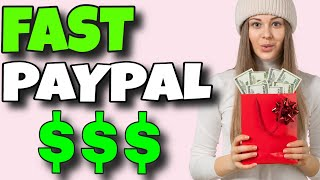 EARN PAYPAL MONEY FAST No Minimum Cash Out Limit (Free PayPal Money Instantly) No Min Payout!