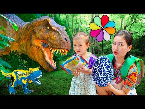 Changcady gặp khủng long trên đường đi học về, lấy trộm trứng và bị khủng log đuổi - Part 81
