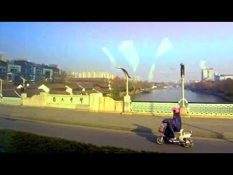 浙江杭州來到京杭大運河 Hangzhou Zhejiang (China)