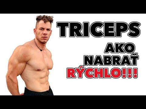 Ako nabrať väčší triceps??? (RÝCHLO) Tipy, cviky, rady ako…
