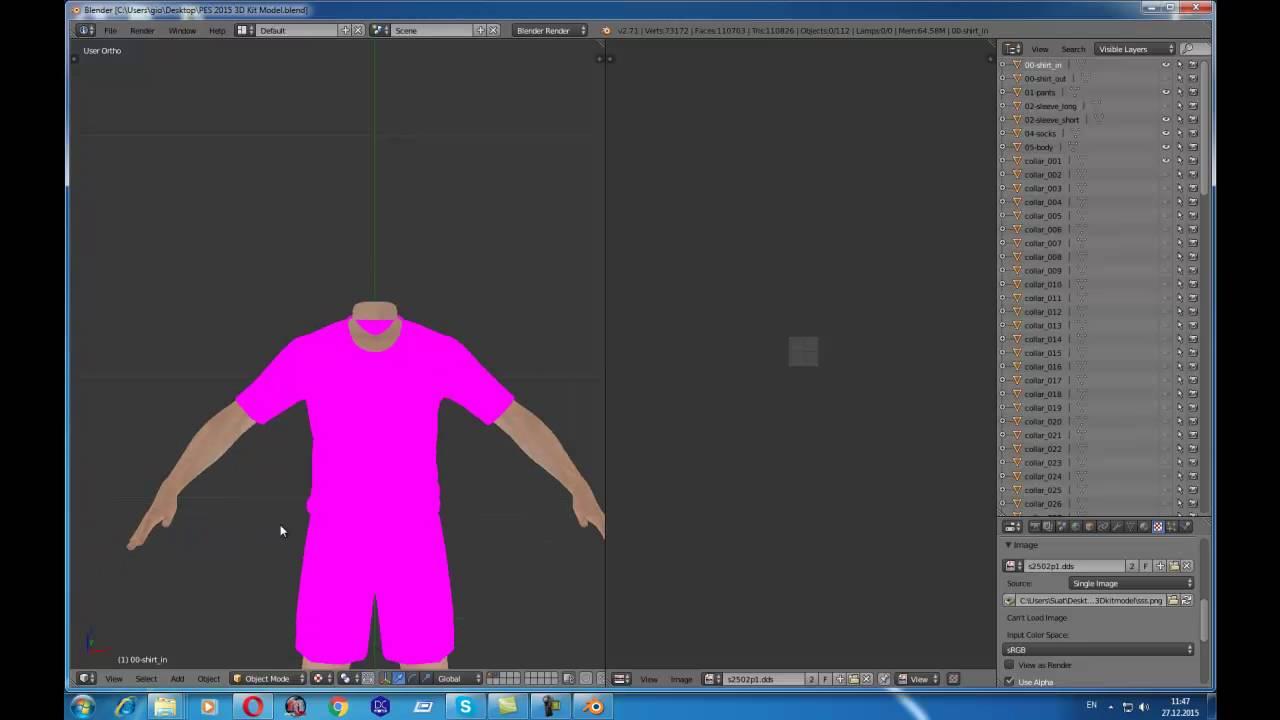pes 14-15-16 3D kits viewer