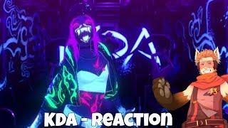 K/DA - POP/STARS   League of Legends - REACTION