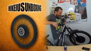 Έξυπνή ηλεκτρική ρόδα ποδηλάτου - Mikeius Unboxing