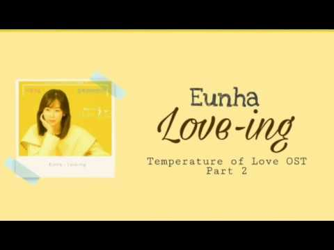 [ENG SUB] Eunha (은하) - Love-ing (사랑 ing) Temperature of Love Part 2 Lyrics (Han/Rom/Eng)