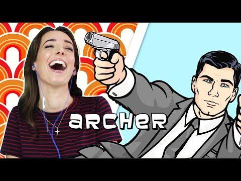 Irish People Watch Archer