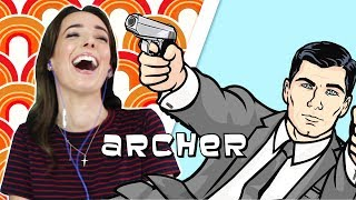 Irish People Watch Archer