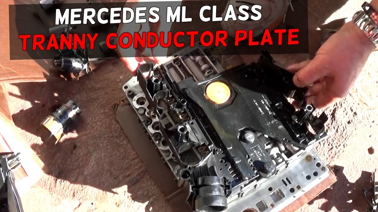 MERCEDES W163 TRANSMISSION CONDUCTOR PLATE REPLACEMENT  YouTube