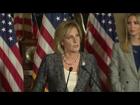 Claudia Tenney tells Ivanka Trump of her struggles as single mother (video)